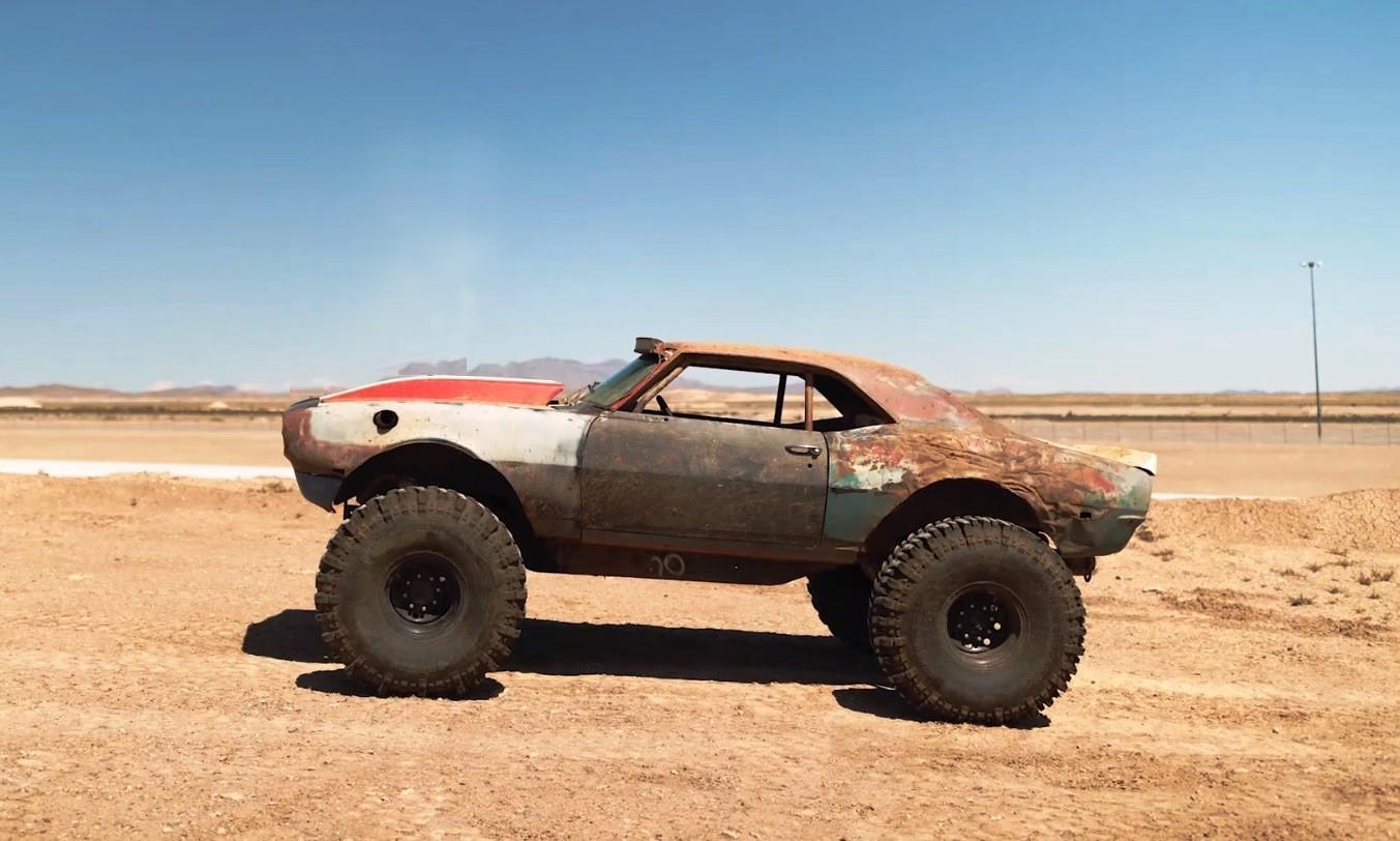 4x4 Chev Camaro profile