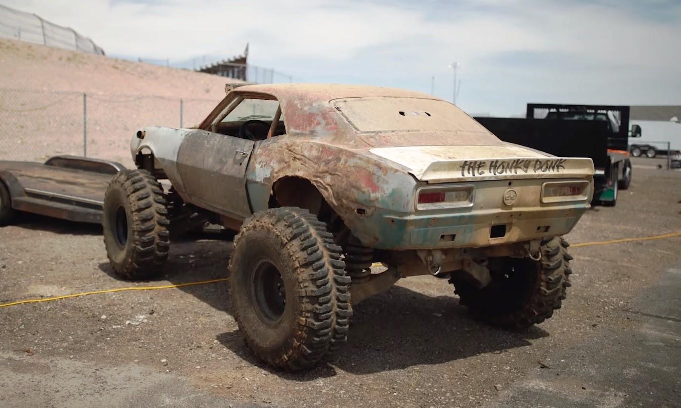4x4 Chev Camaro rear