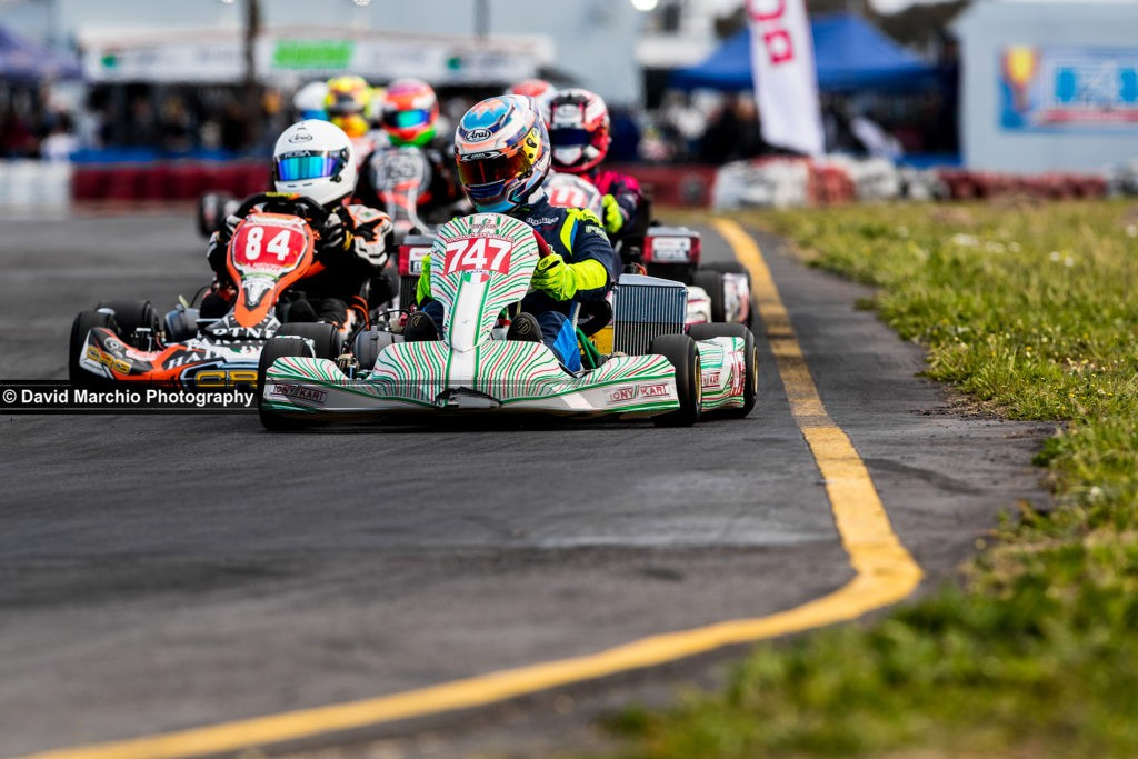 Kart train - this is a very special photo, looking deeper than just the racers, the beautiful low angle, the bokeh from the narrow depth of field placing emphasis on the first kart, yet leaving enough visible to appreciate all around it.