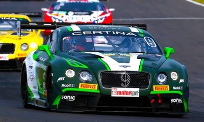 Bentley is just one of the brands we'll see at the Kyalami 9 Hour