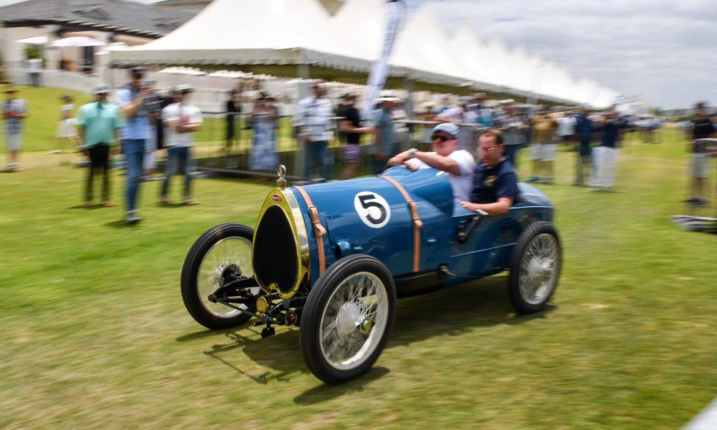 A dainty old Bugatti