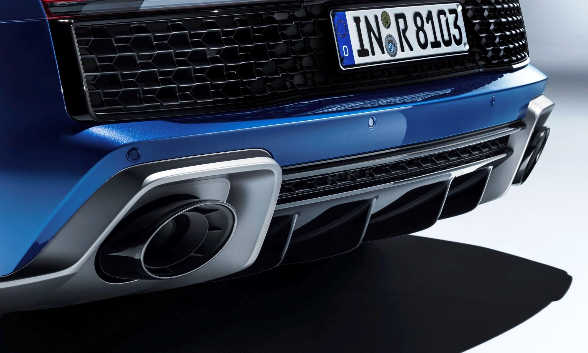 Audi R8 updated rear