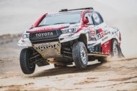 Race leader Nasser Al-Attiyah claimed dakar rally stage 9 and extends his overall lead