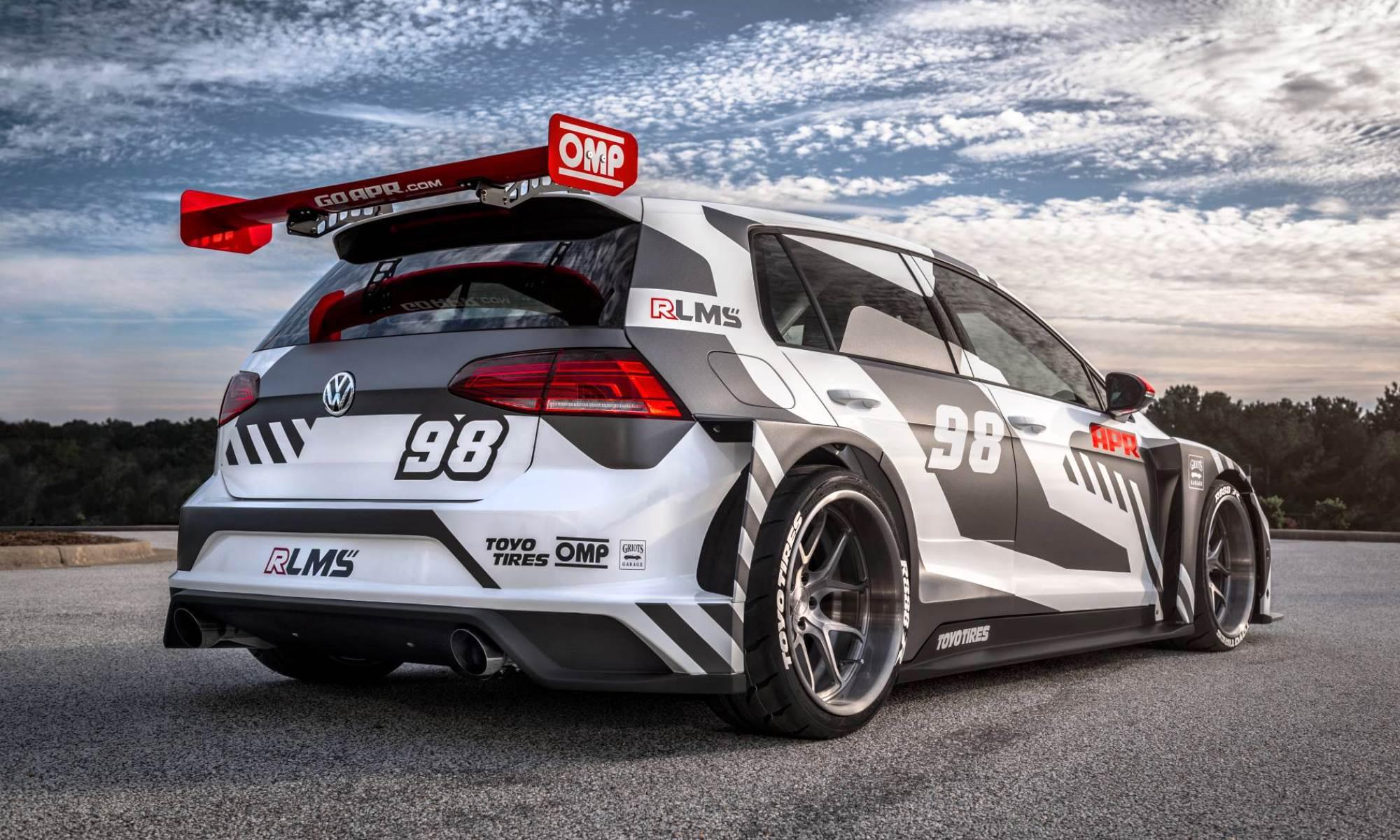 APR VW Golf RLMS rear