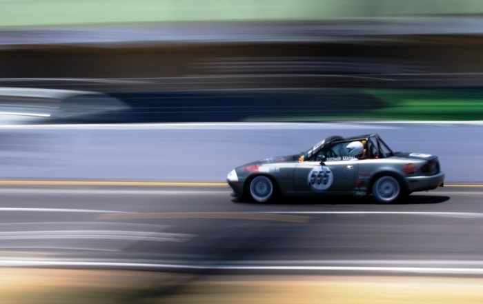 Our own racecar captured by Marchio
