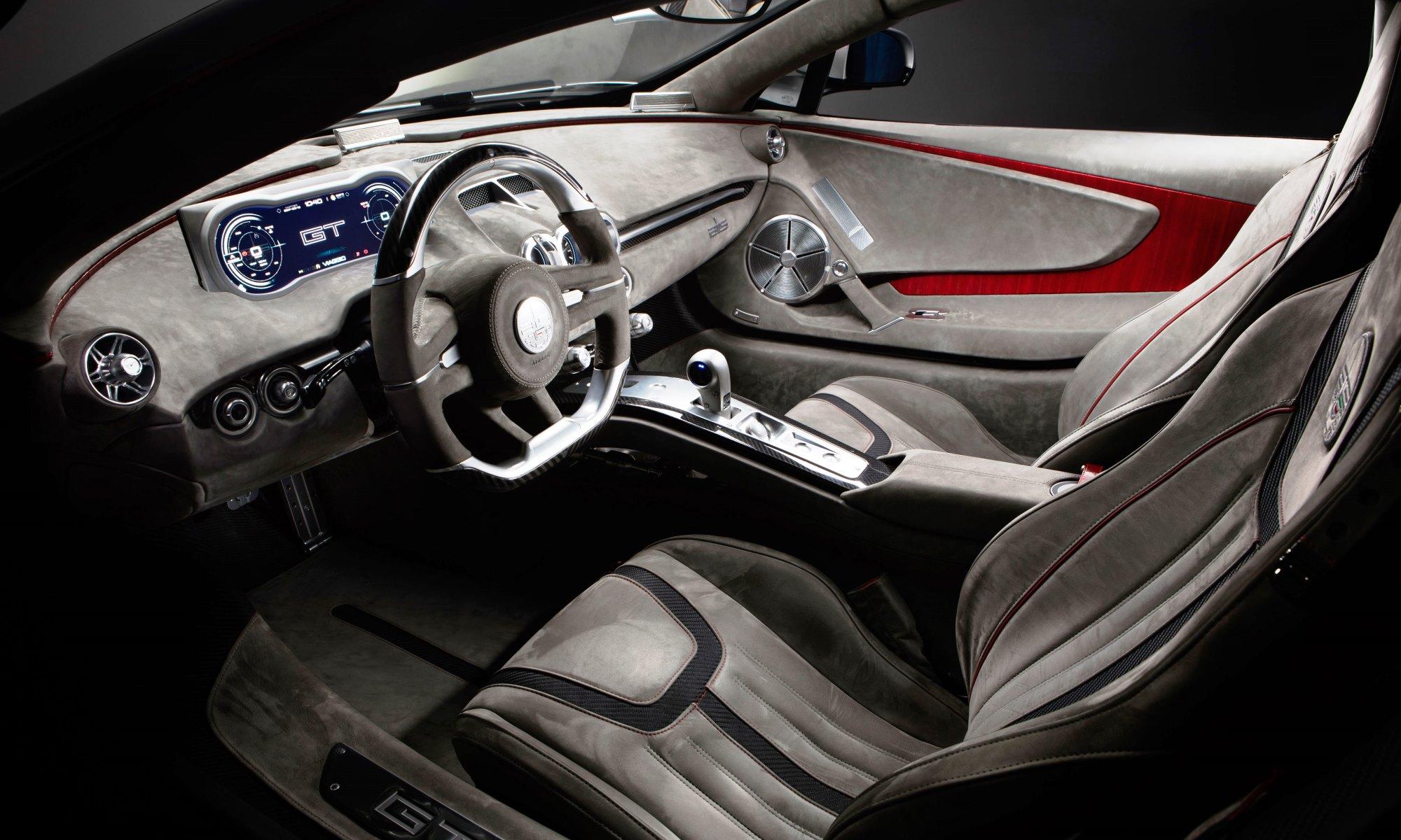 ATS GT Supercar interior