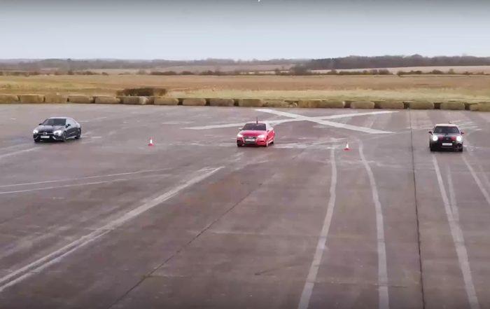 Compact AWD Drag Race