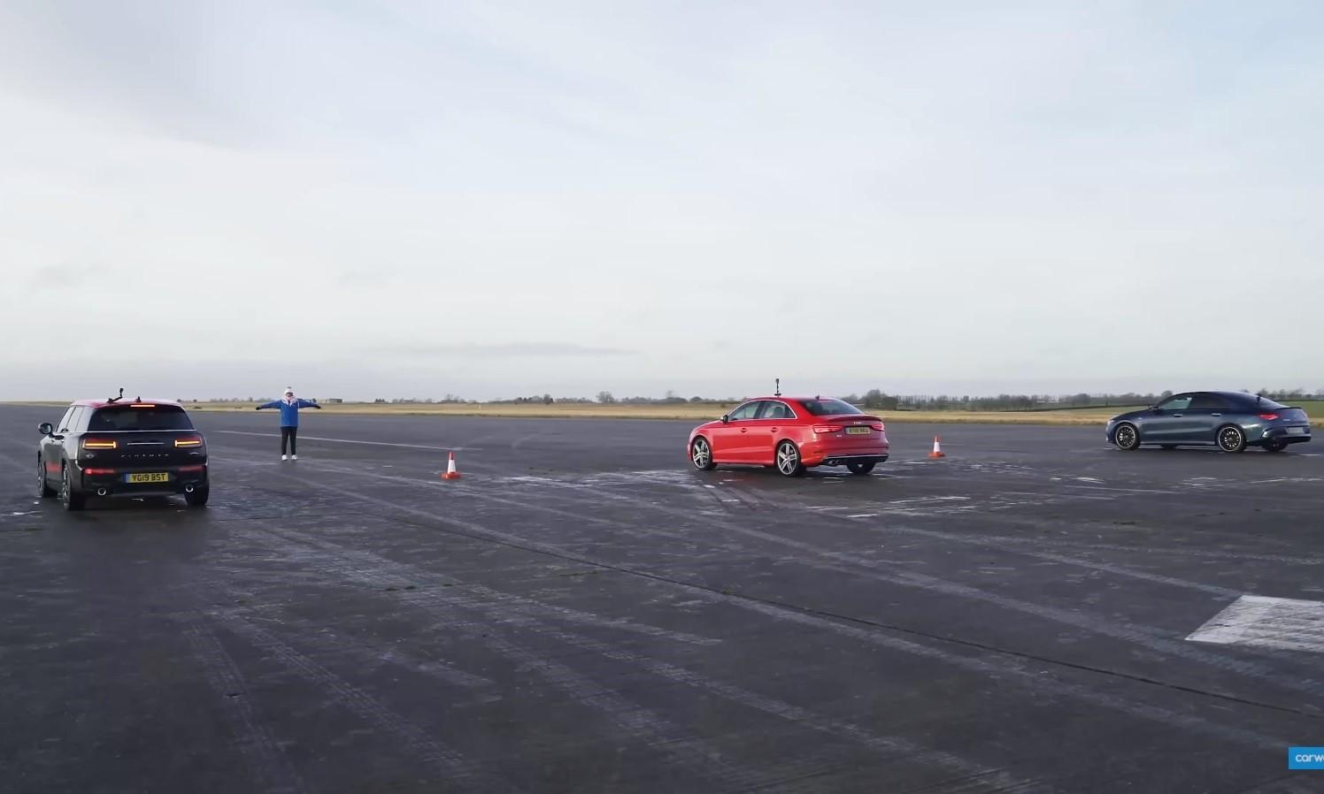 Compact AWD Drag Race rear
