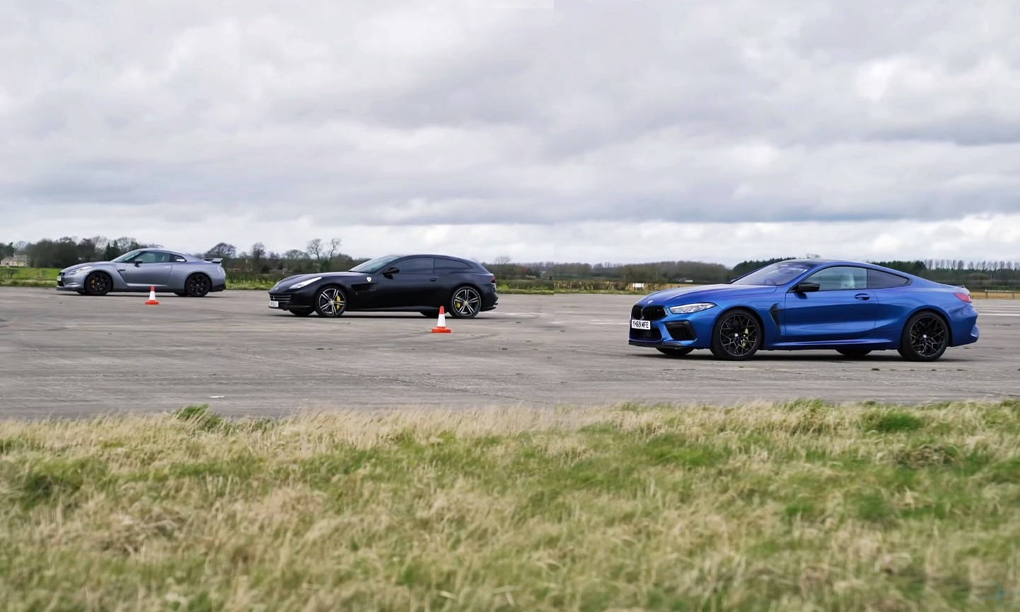 AWD Coupe Drag Race 1