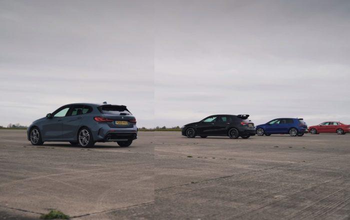 AWD drag race
