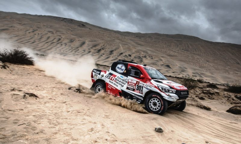 Al-Attityah emerged victorious on Dakar Rally stage 4