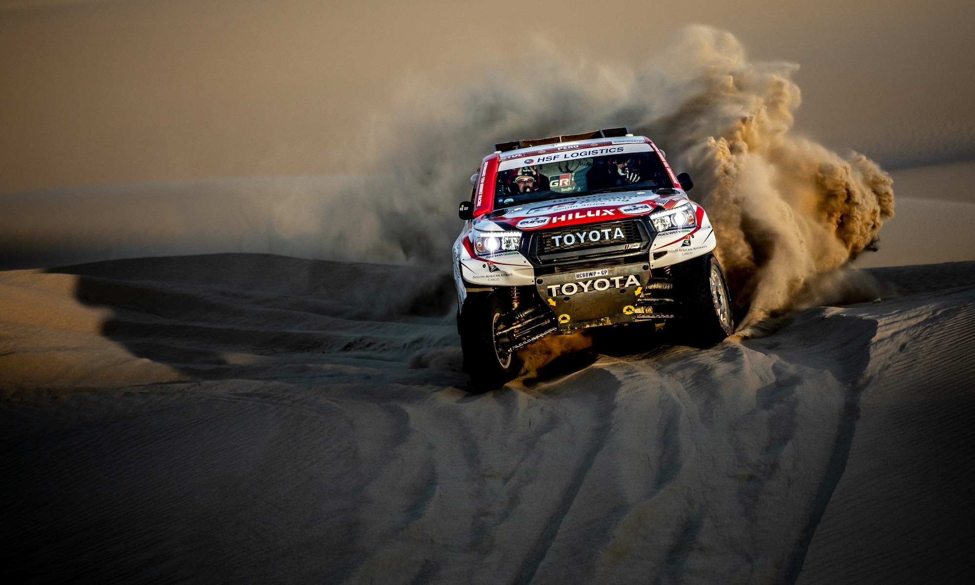 Al-Attiyah regains the lead