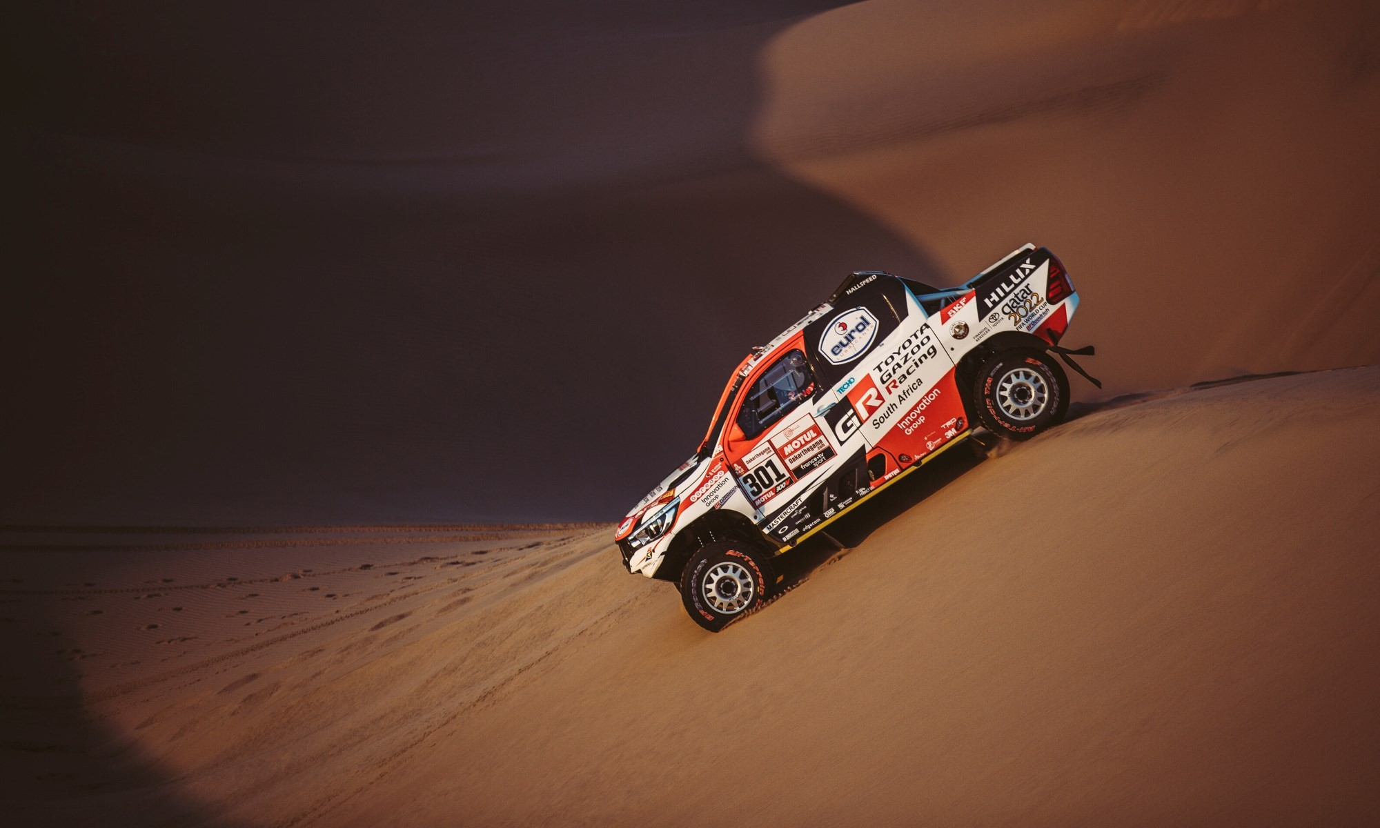 Al-Attiyah was second on stage 5