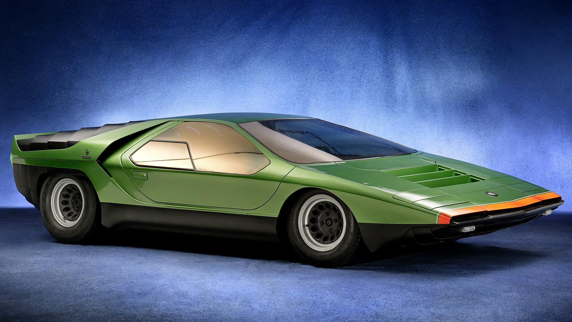 Italian Concept Cars Part 1