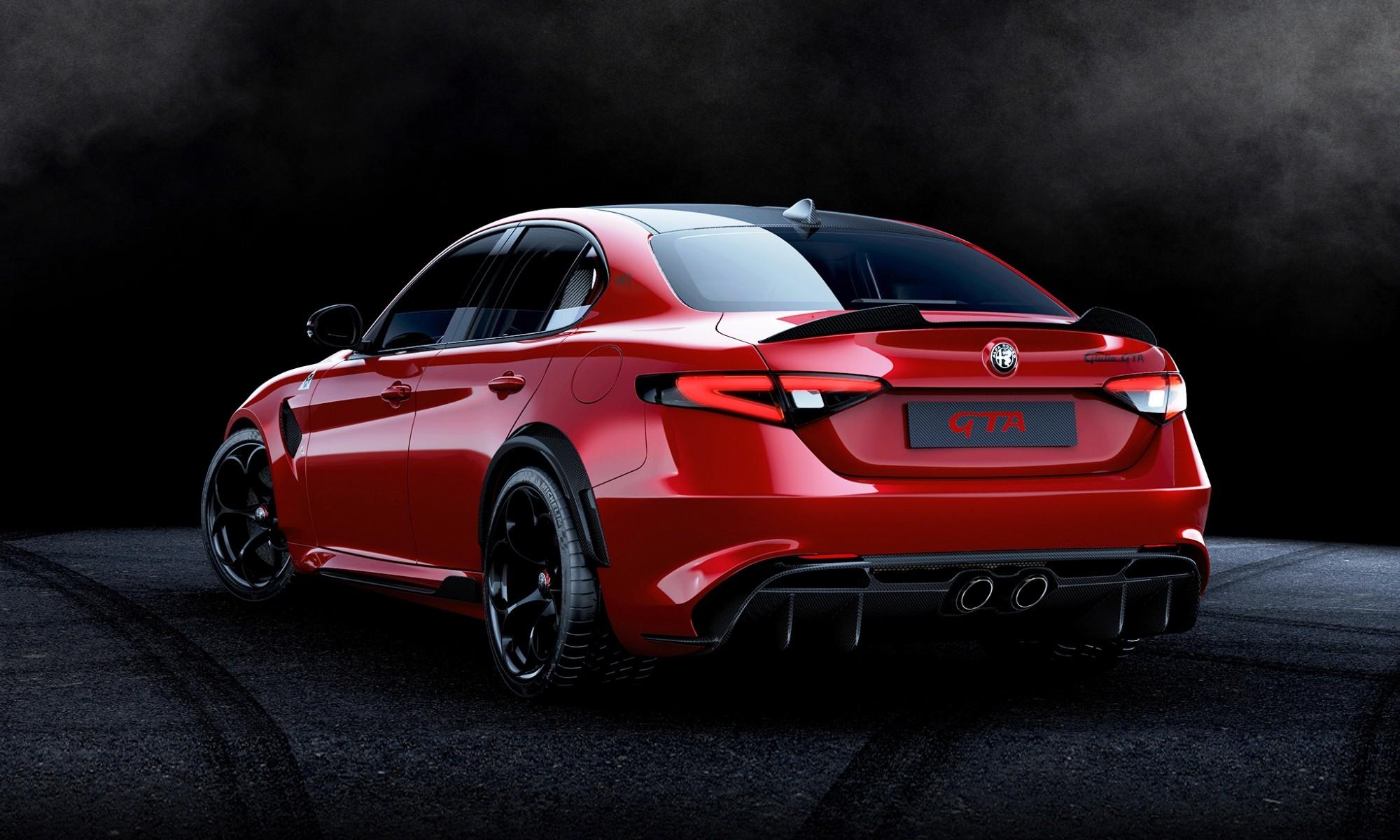 Alfa Romeo Giulia GTA and GTAm are new high-performance ...