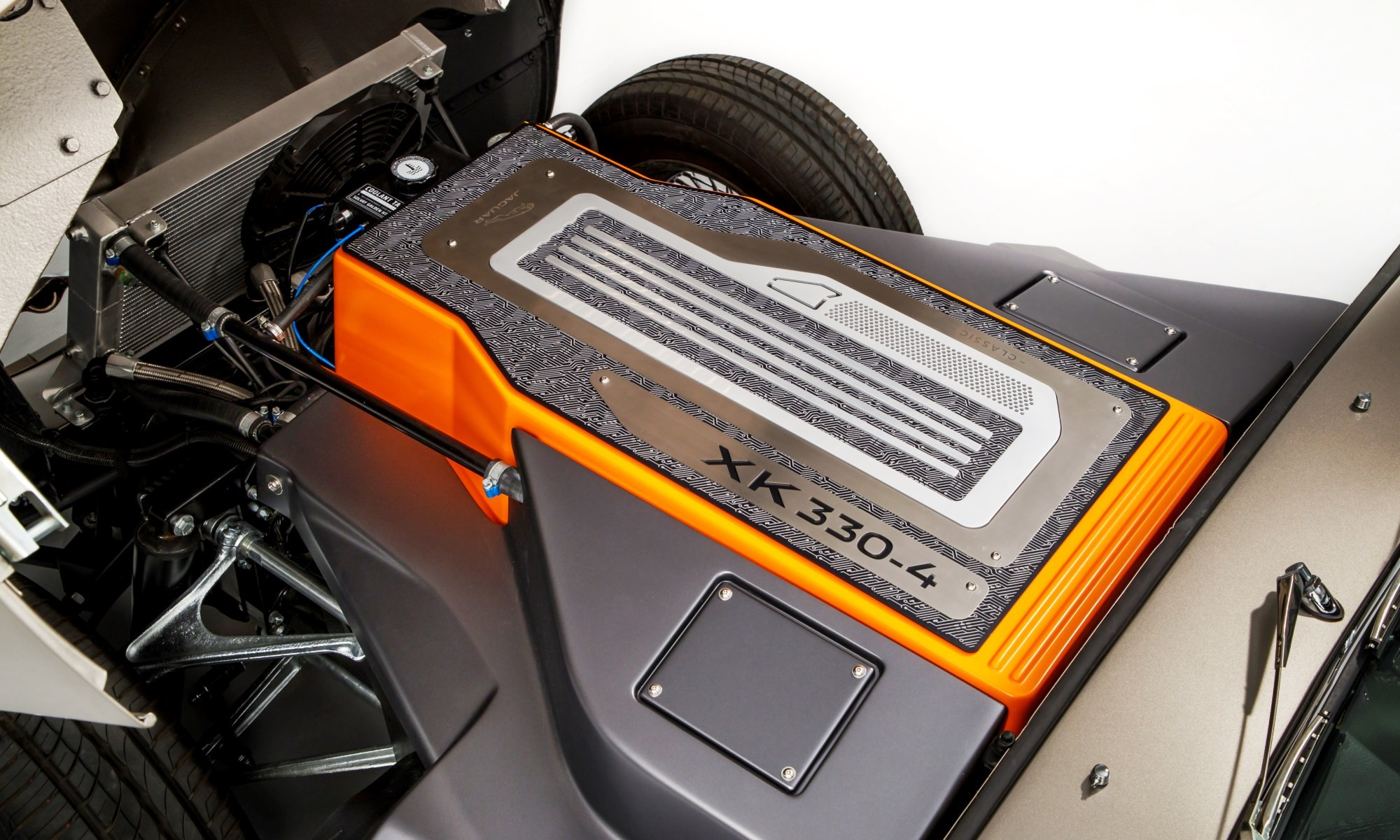 All-electric Jaguar E-Type battery pack