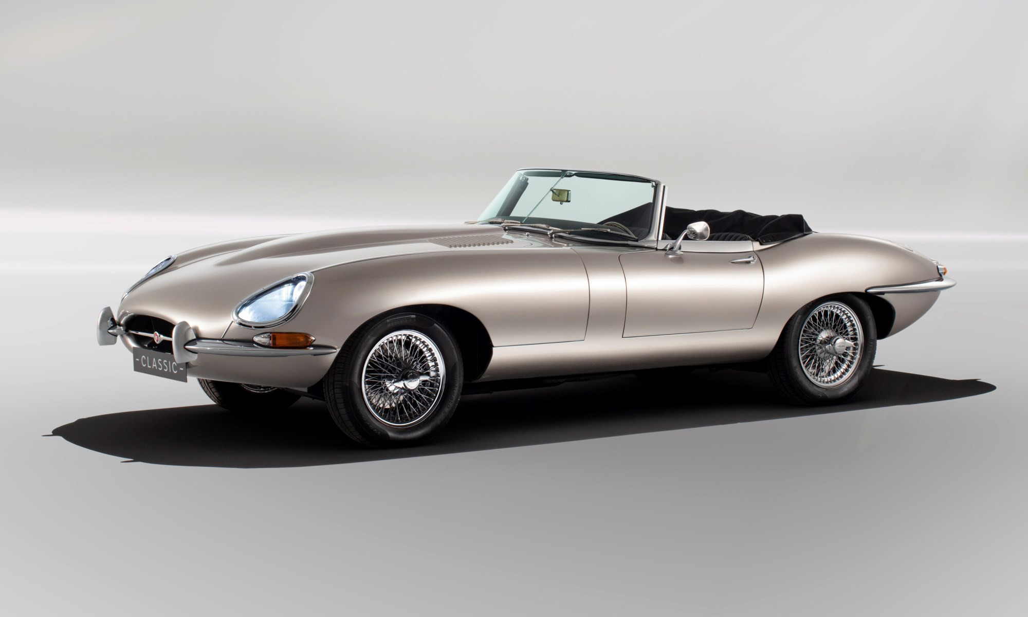 All-electric Jaguar E-Type