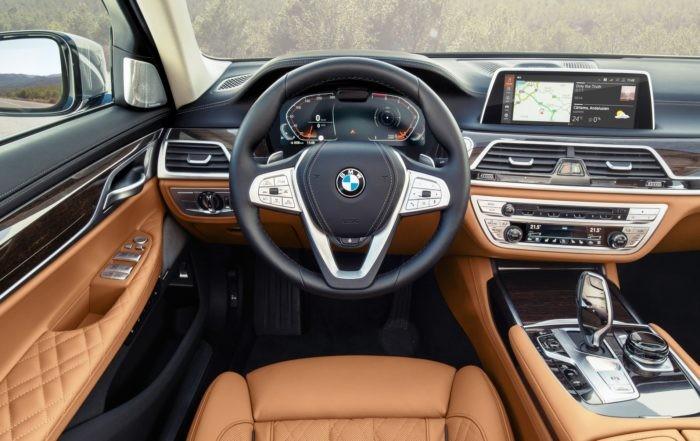 All-new BMW 7 Series interor