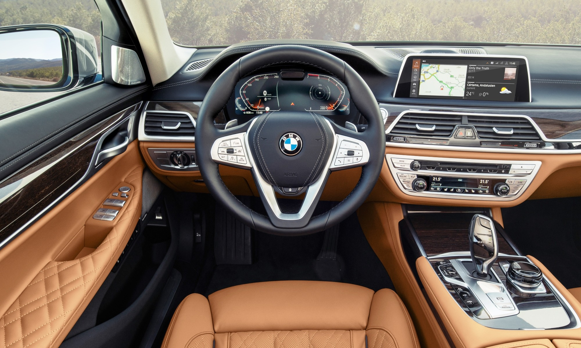 All-new BMW 7 Series interor