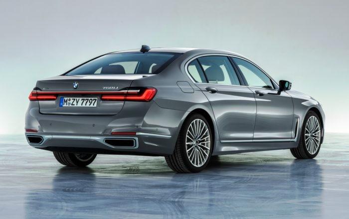 All-new BMW 7 Series rear