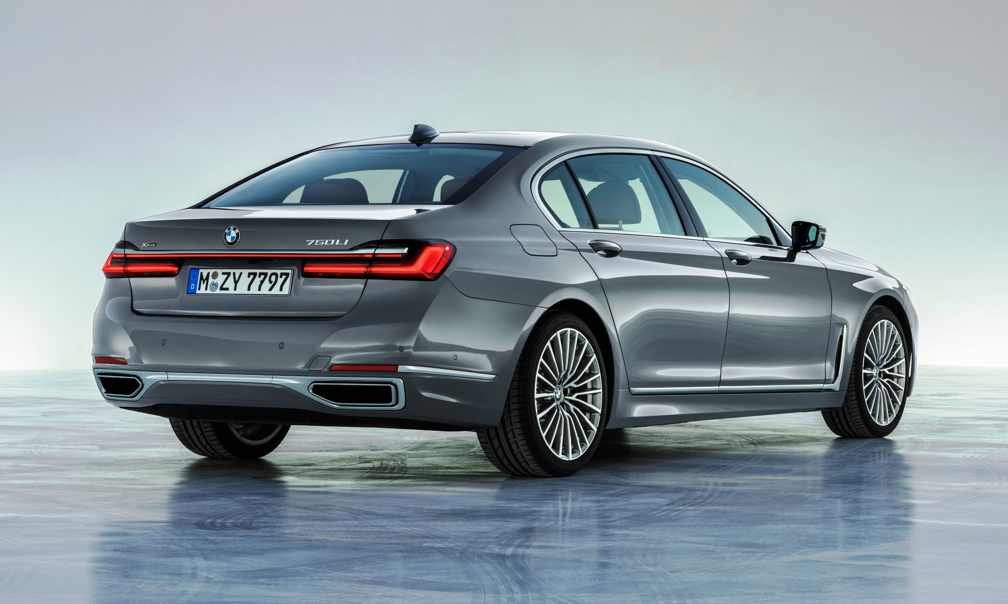 All-new BMW 7 Series rear