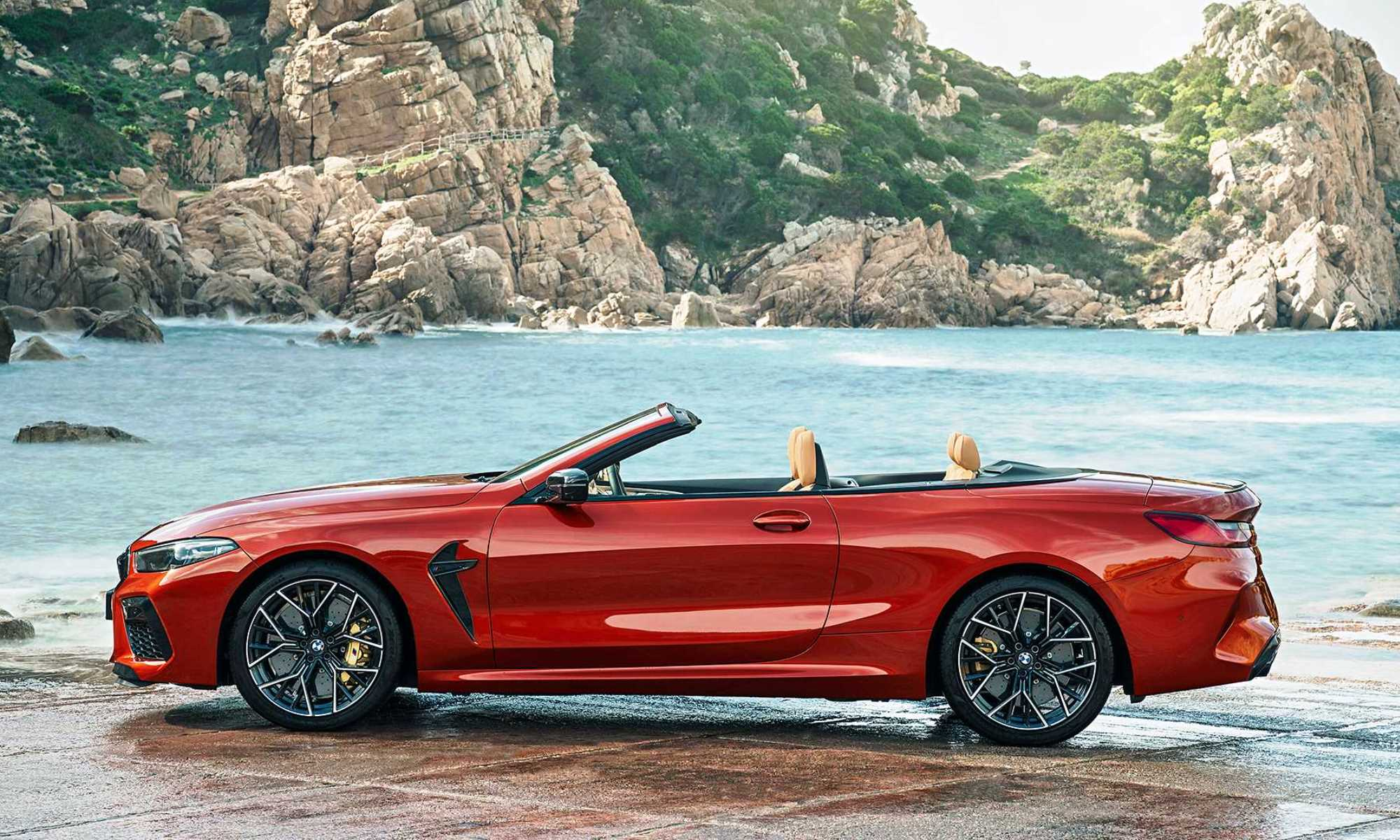 All-new BMW M8 Convertible