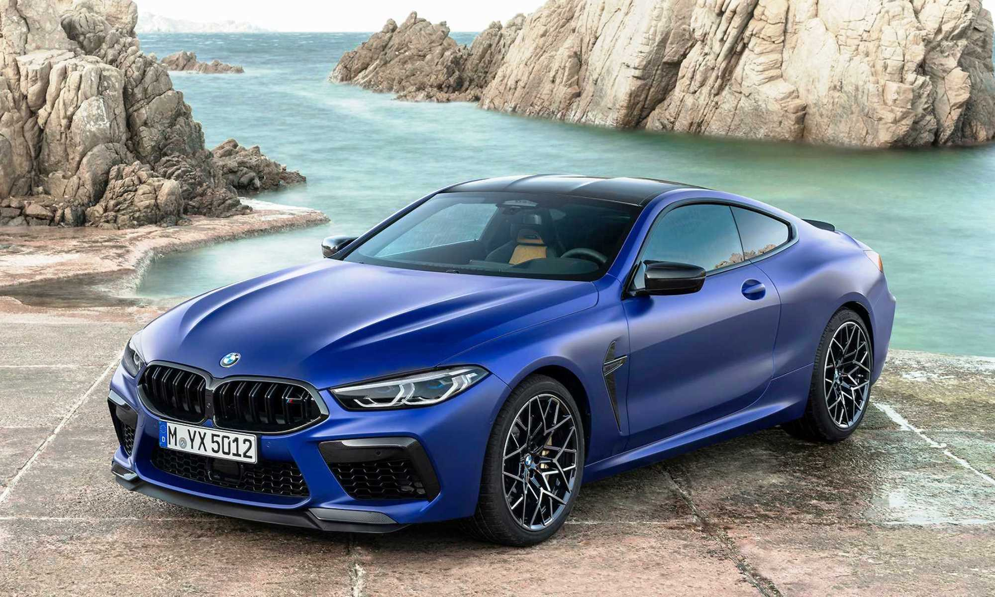 All-new BMW M8 Coupe