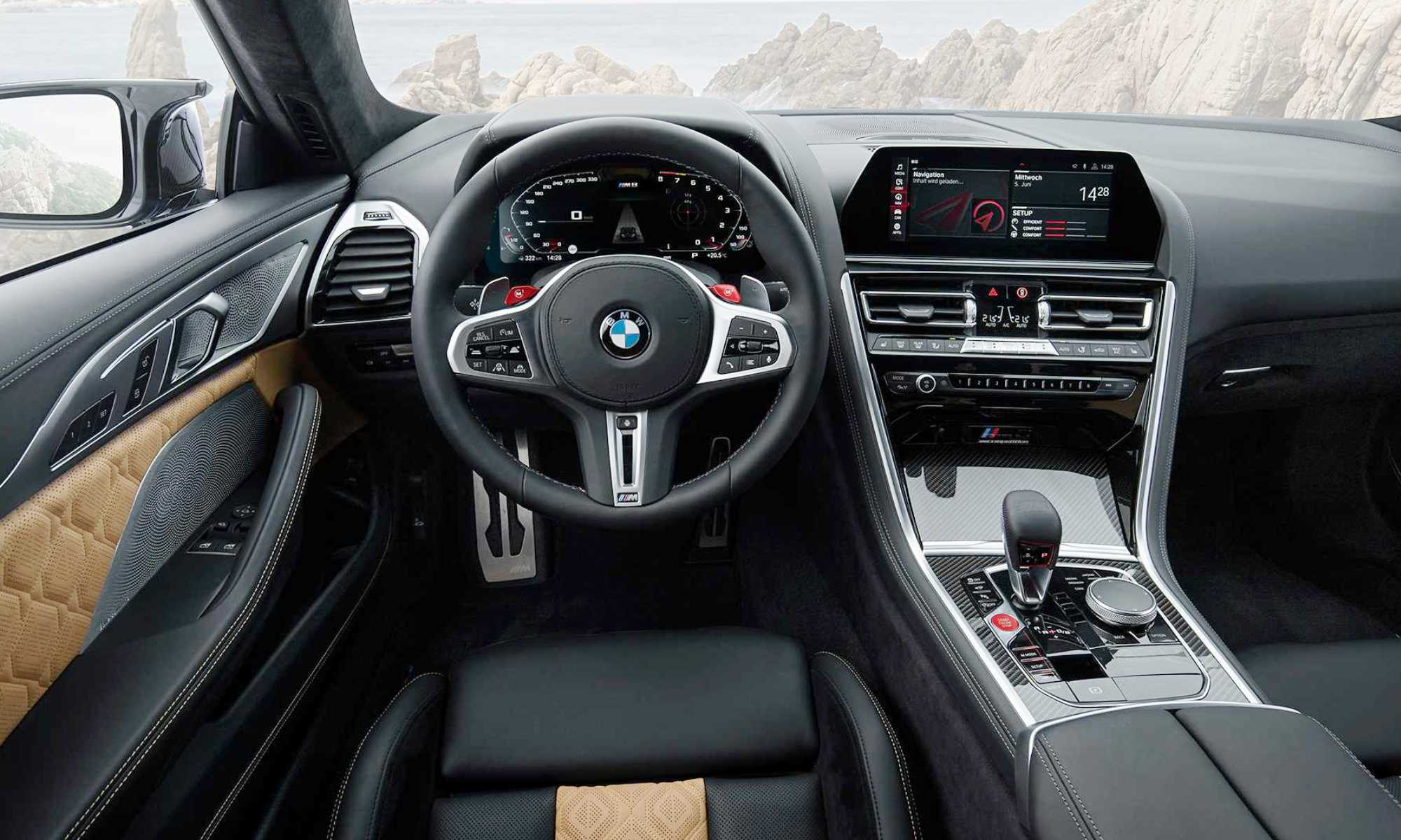 All-new BMW M8 interior