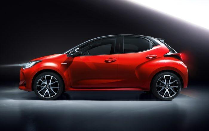 All-new Toyota Yaris profile