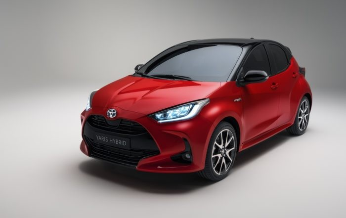 All-new Toyota Yaris side