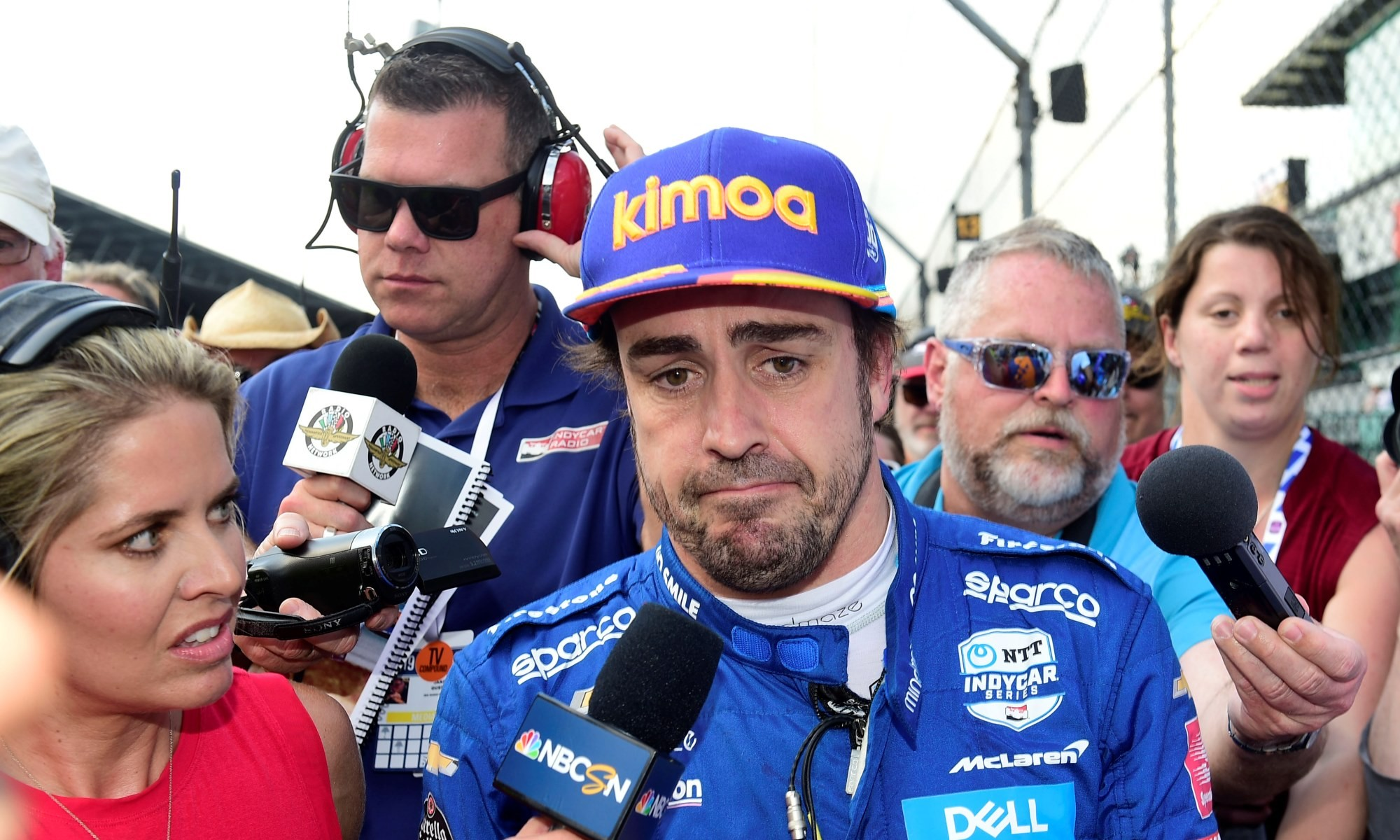 Alonso Out of Indy 500