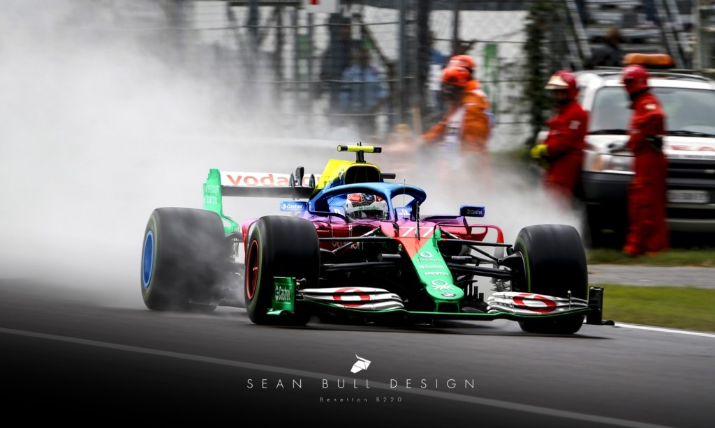 Alternative F1 Histories Part 1 includes a Benetton in 2020