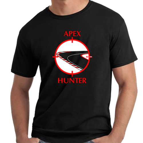 Double Apex Apex Hunter car T-shirt