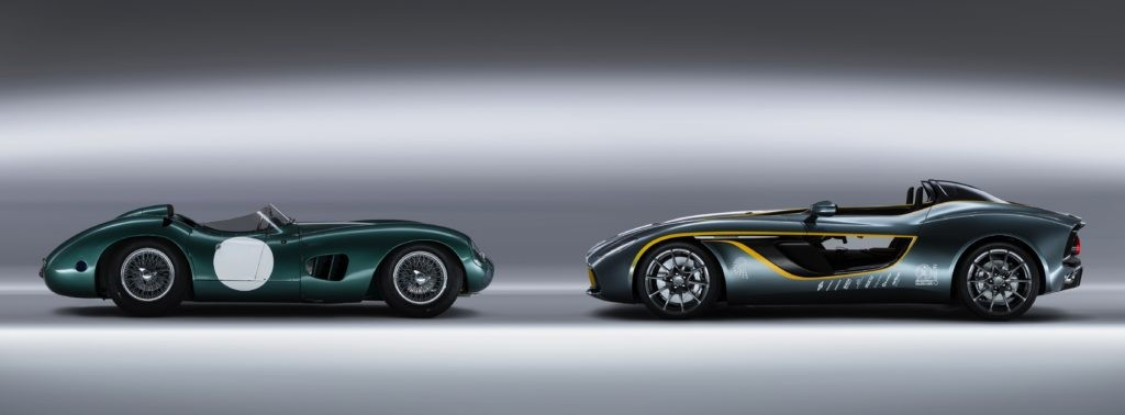 Aston Martin DBR1 and CC100 Speedster