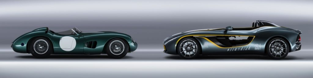 Aston Martin DBR1 and CC100 Speedster