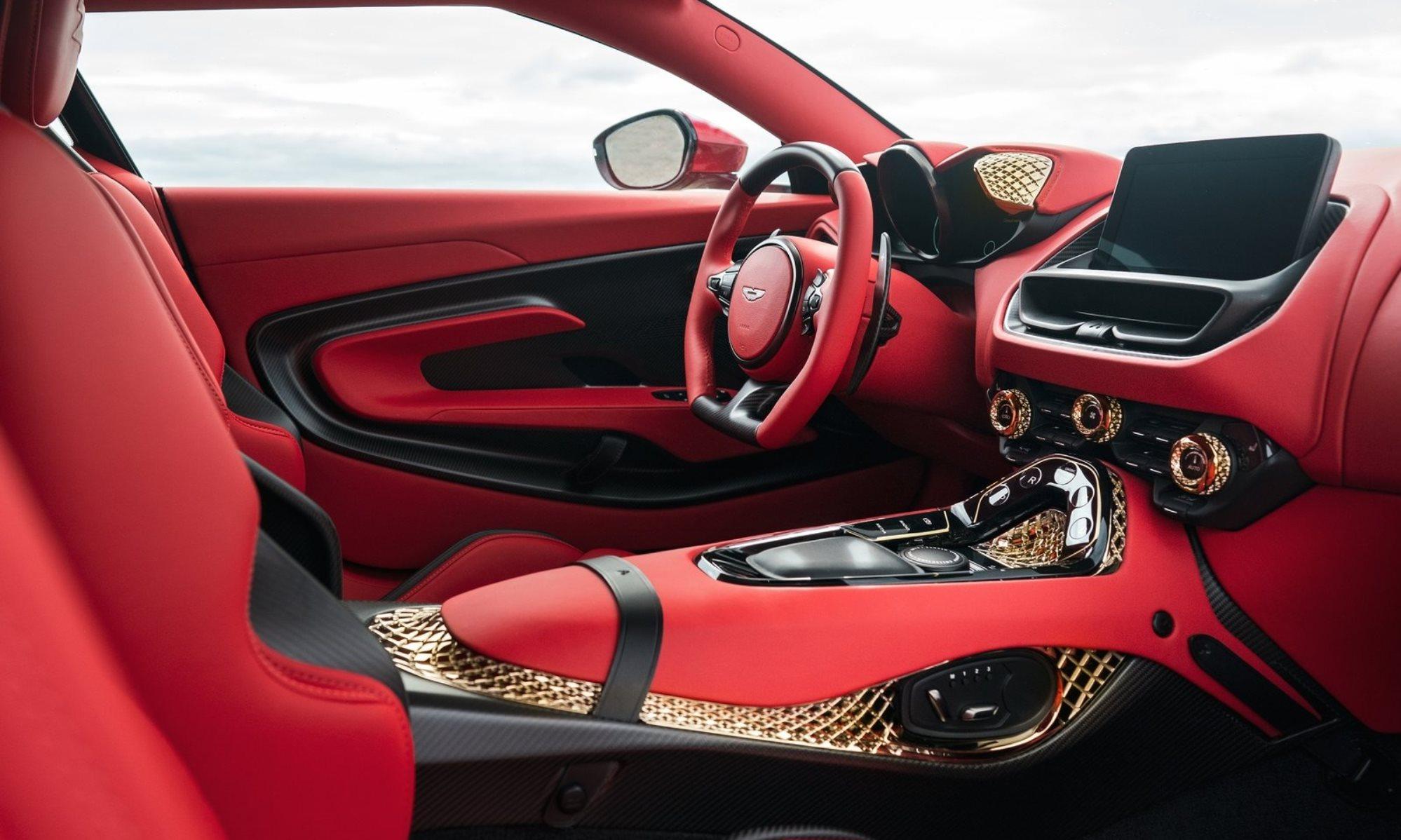 Aston Martin DBS GT Zagato interior
