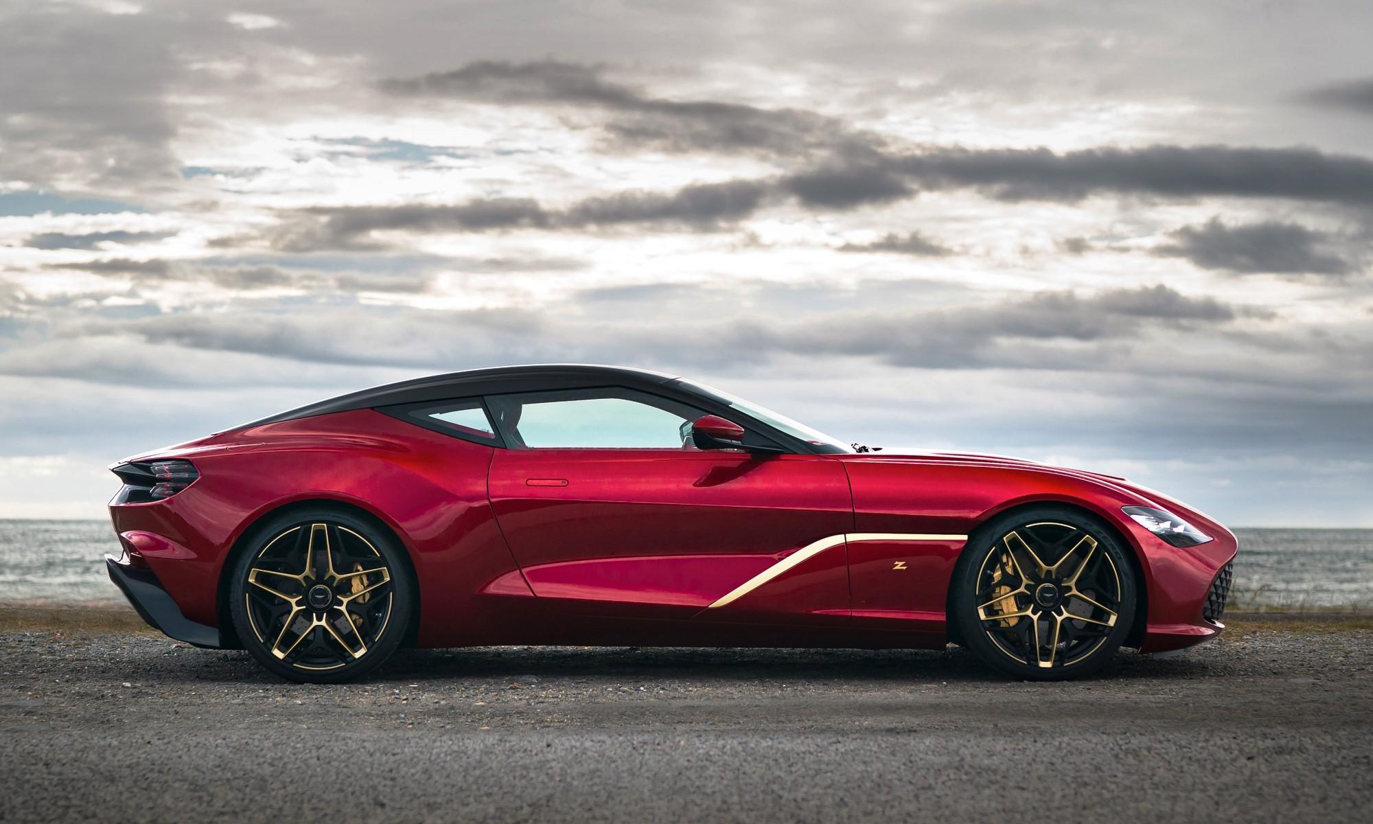 Aston Martin DBS GT Zagato profile