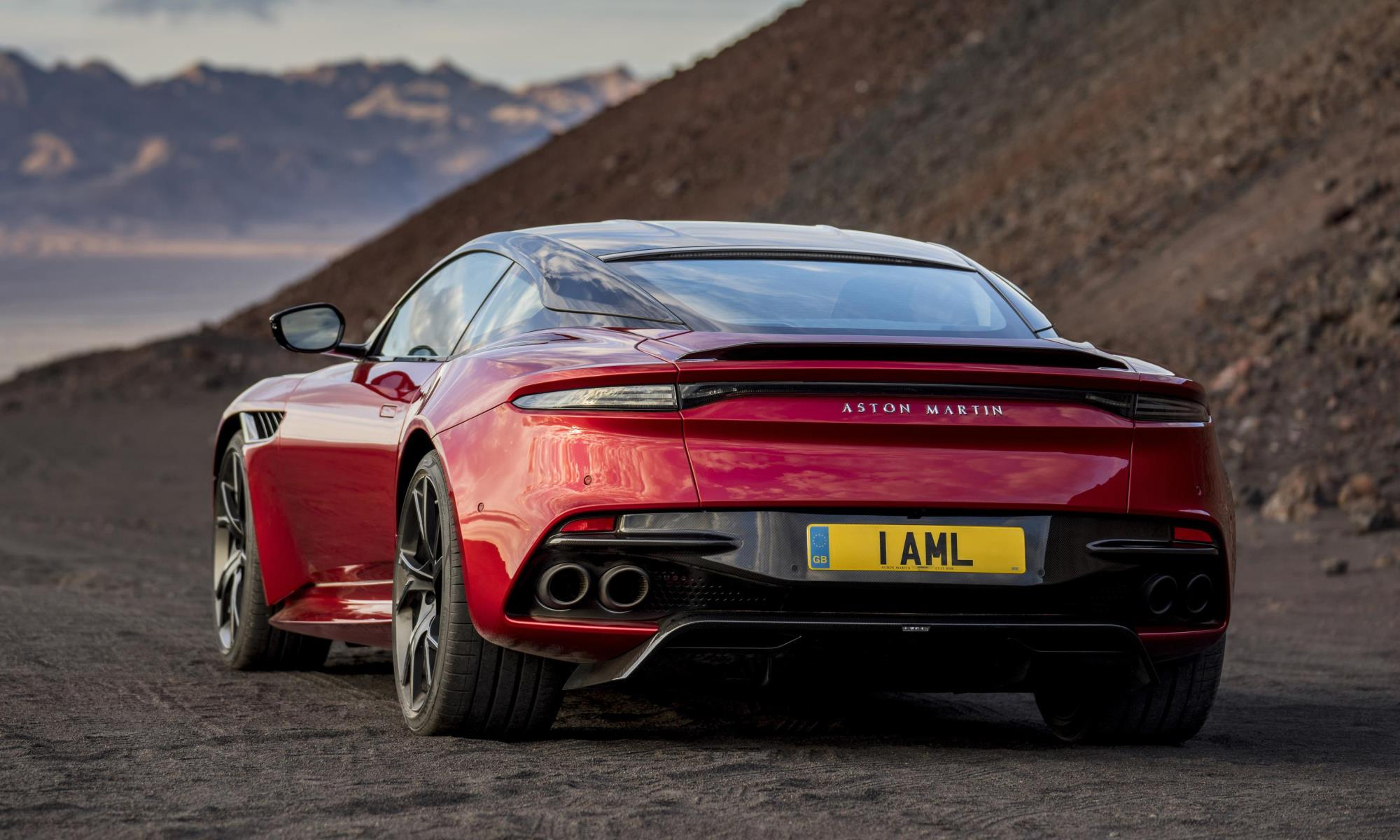 Aston Martin DBS Superleggera rear