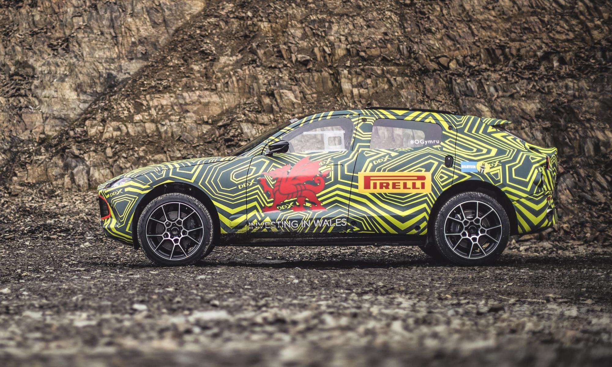 Aston Martin DBX Prototype profile
