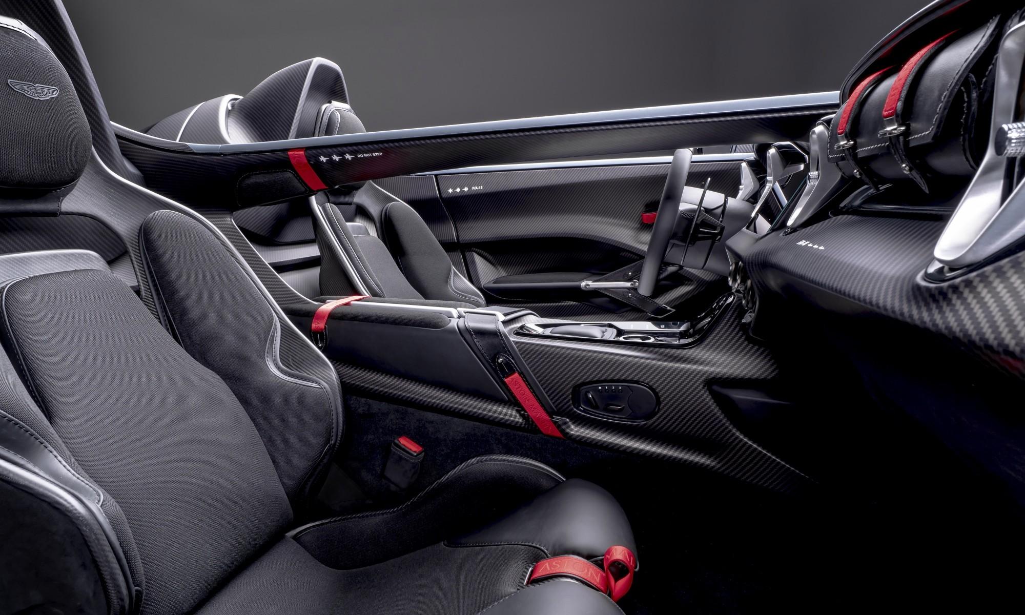 Aston Martin V12 Speedster cockpit