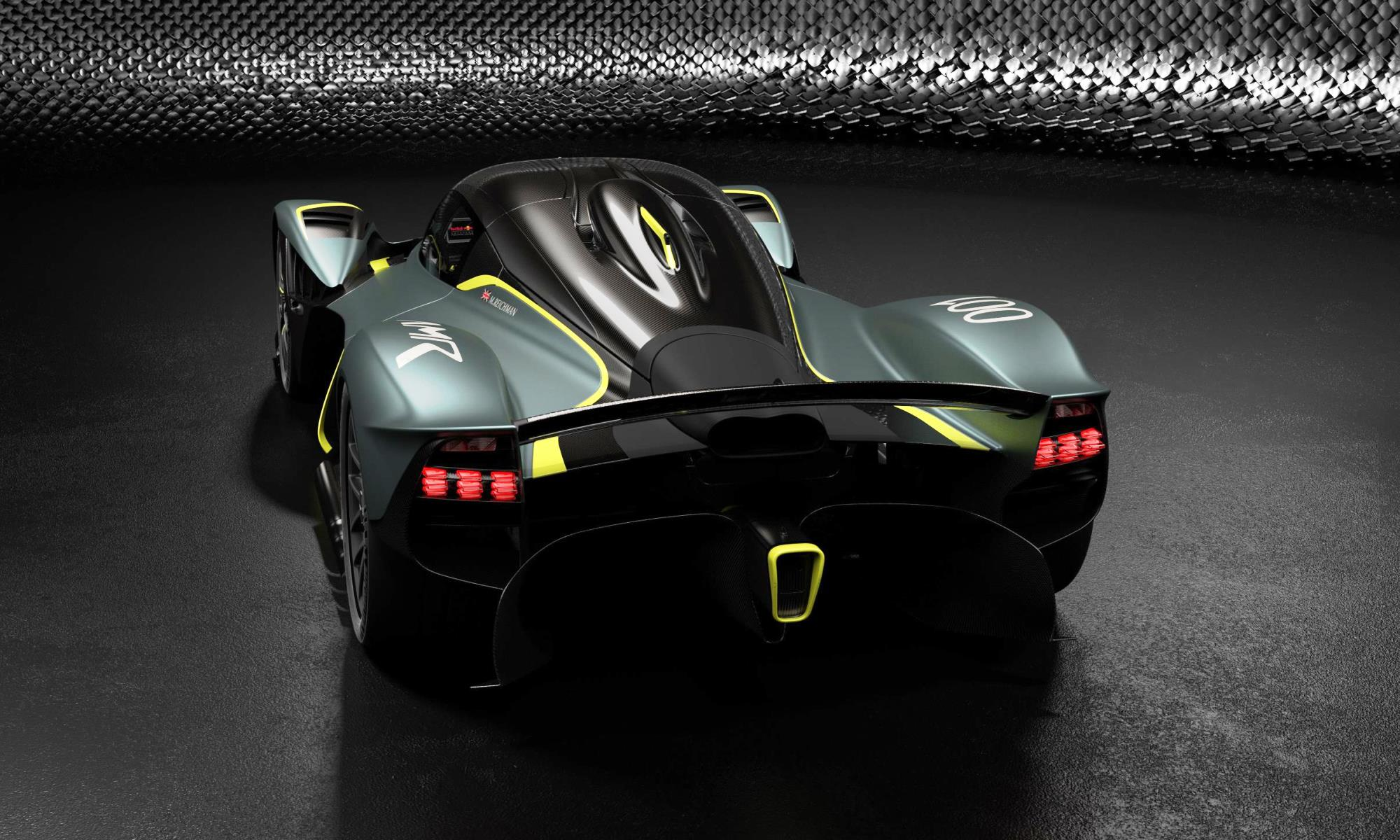 Aston Martin Valkyrie AMR Track Performance Pack rear