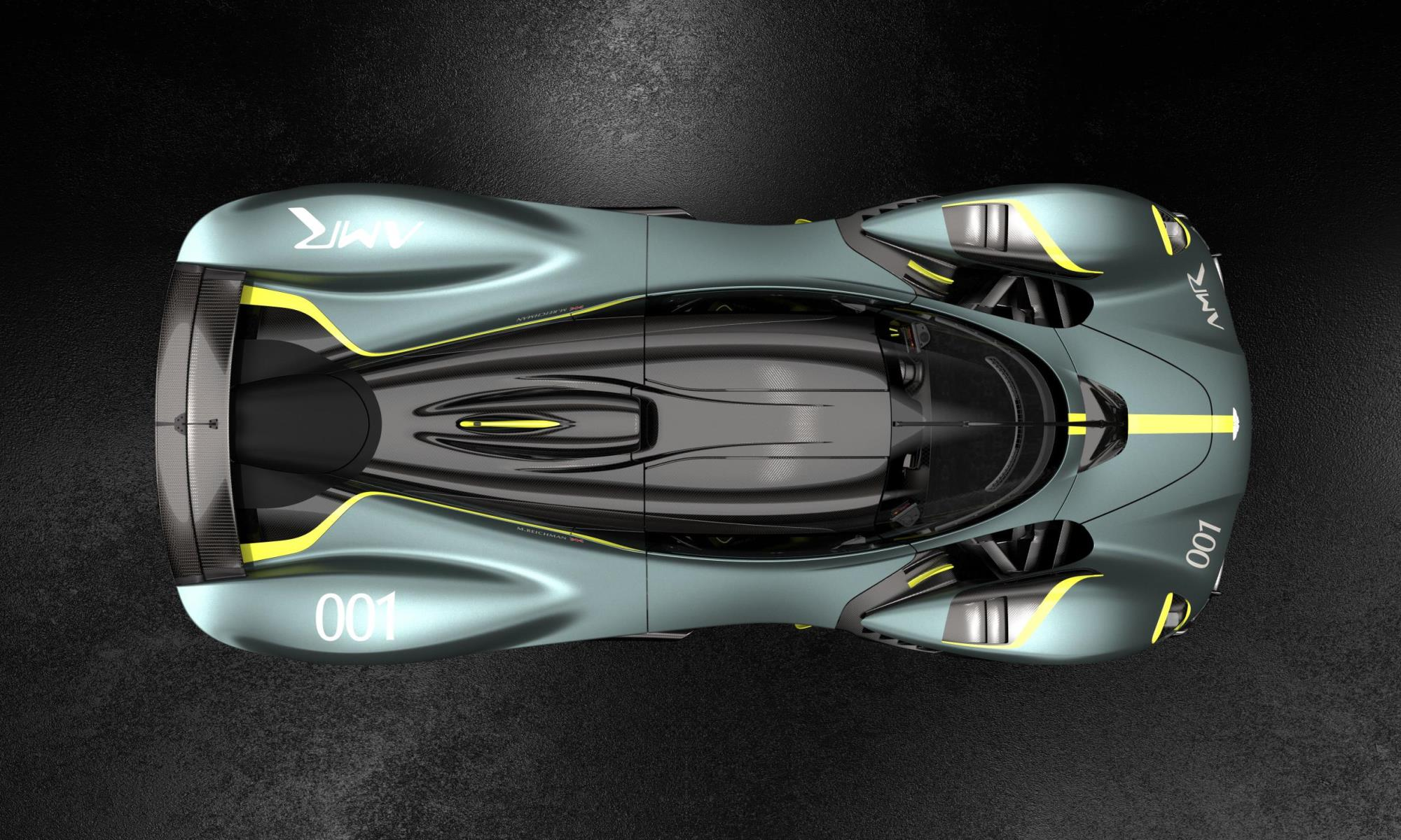 Aston Martin Valkyrie AMR Track Performance Pack top