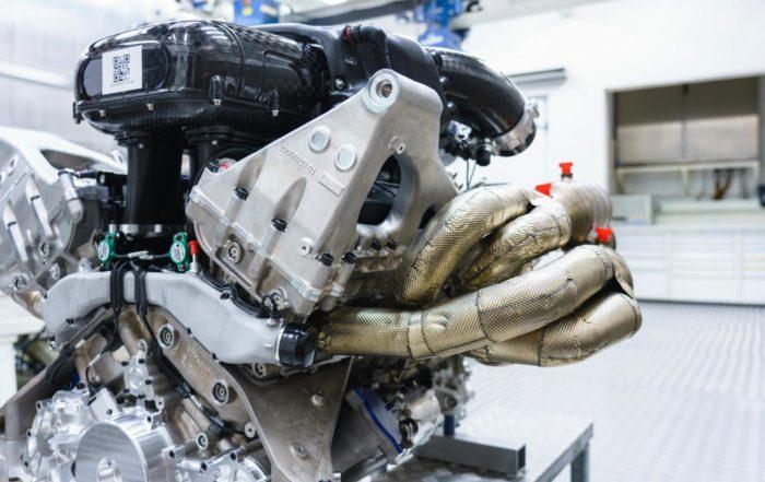 Aston Martin Valkyrie Engine side