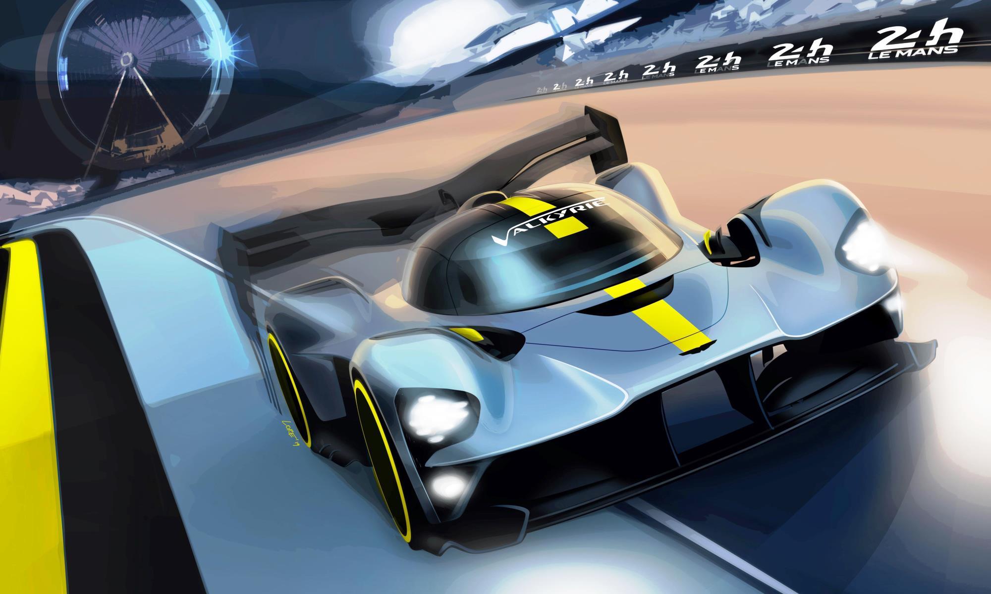 Aston Martin Valkyrie Le Mans hyper car rules