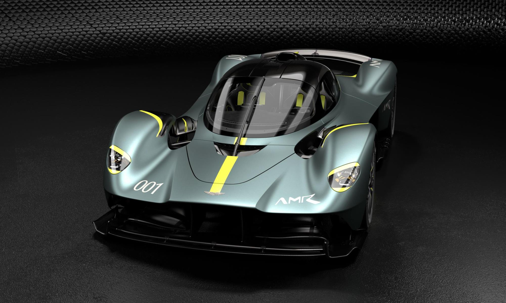 Aston Martin Valkyrie Track Performance Pack front