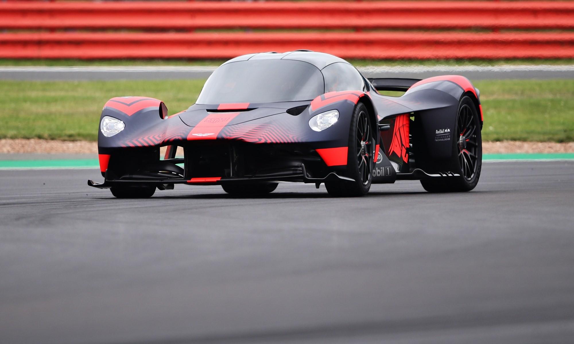 Aston Martin public debut cornering