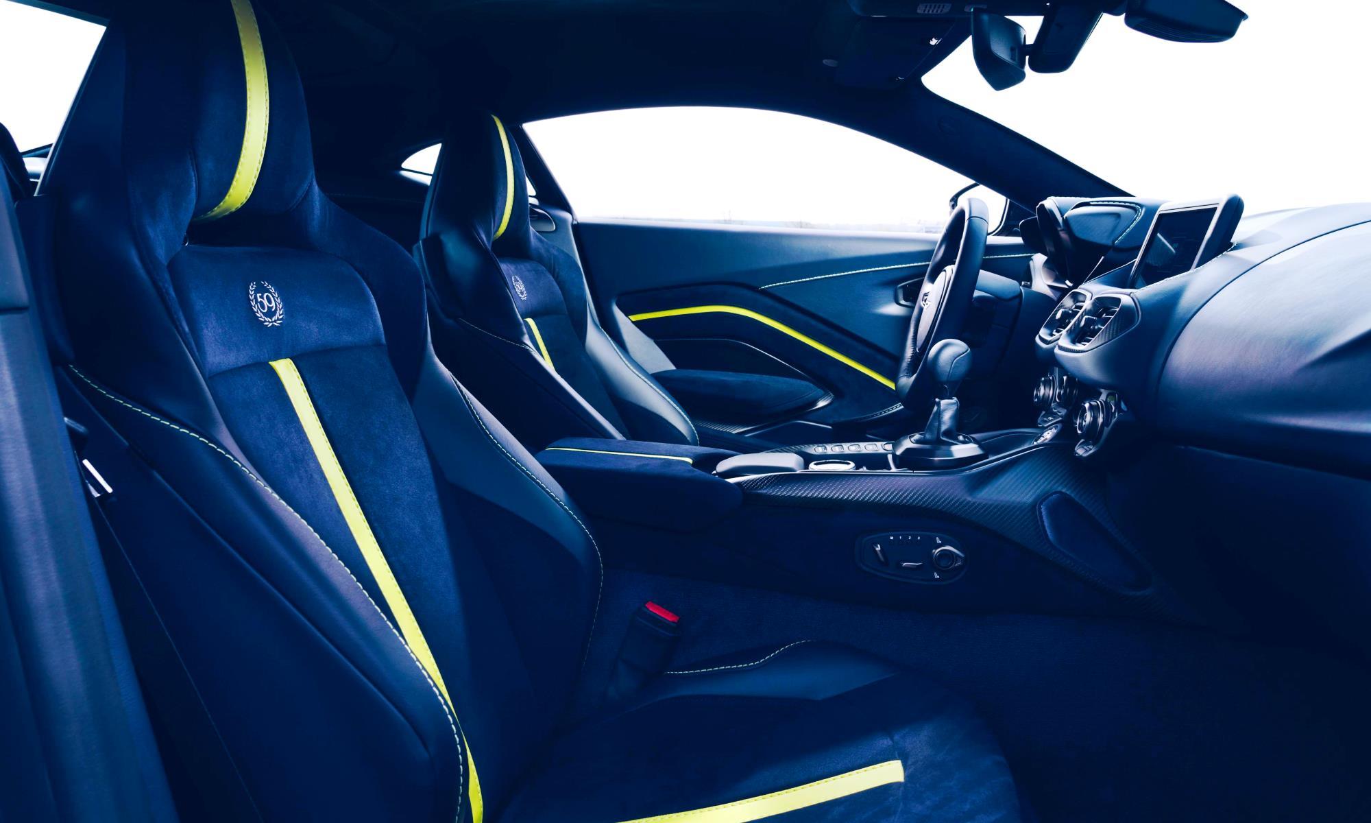 Aston Martin Vantage AMR interior