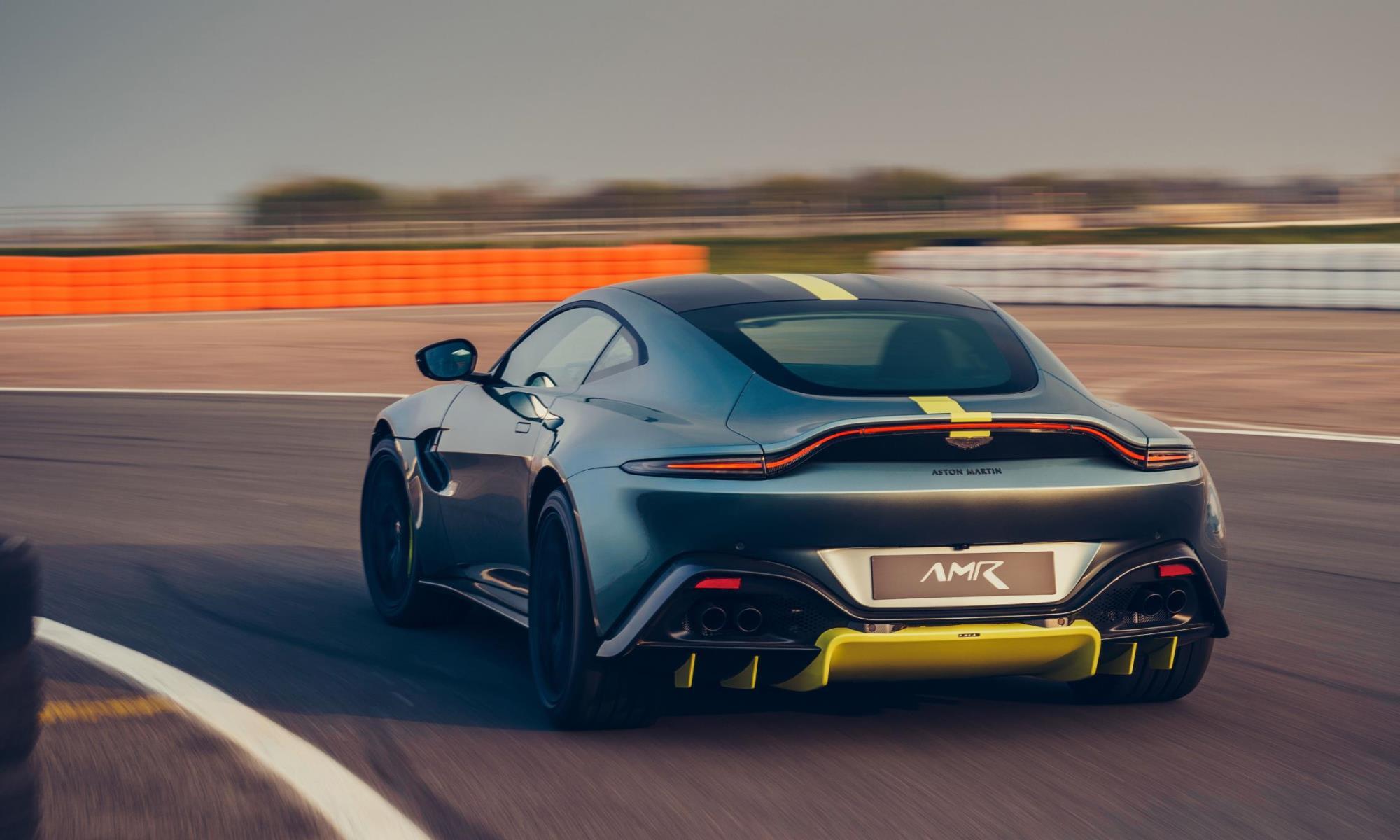Aston Martin Vantage AMR profile