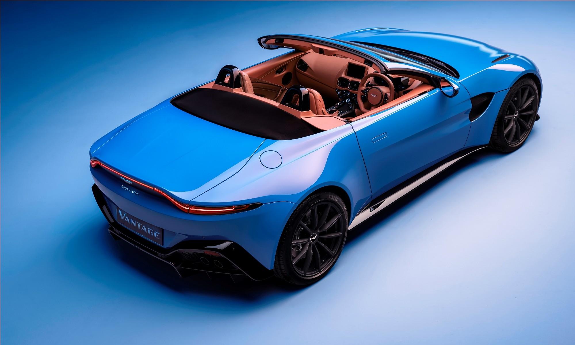 Aston Martin Vantage Roadster top