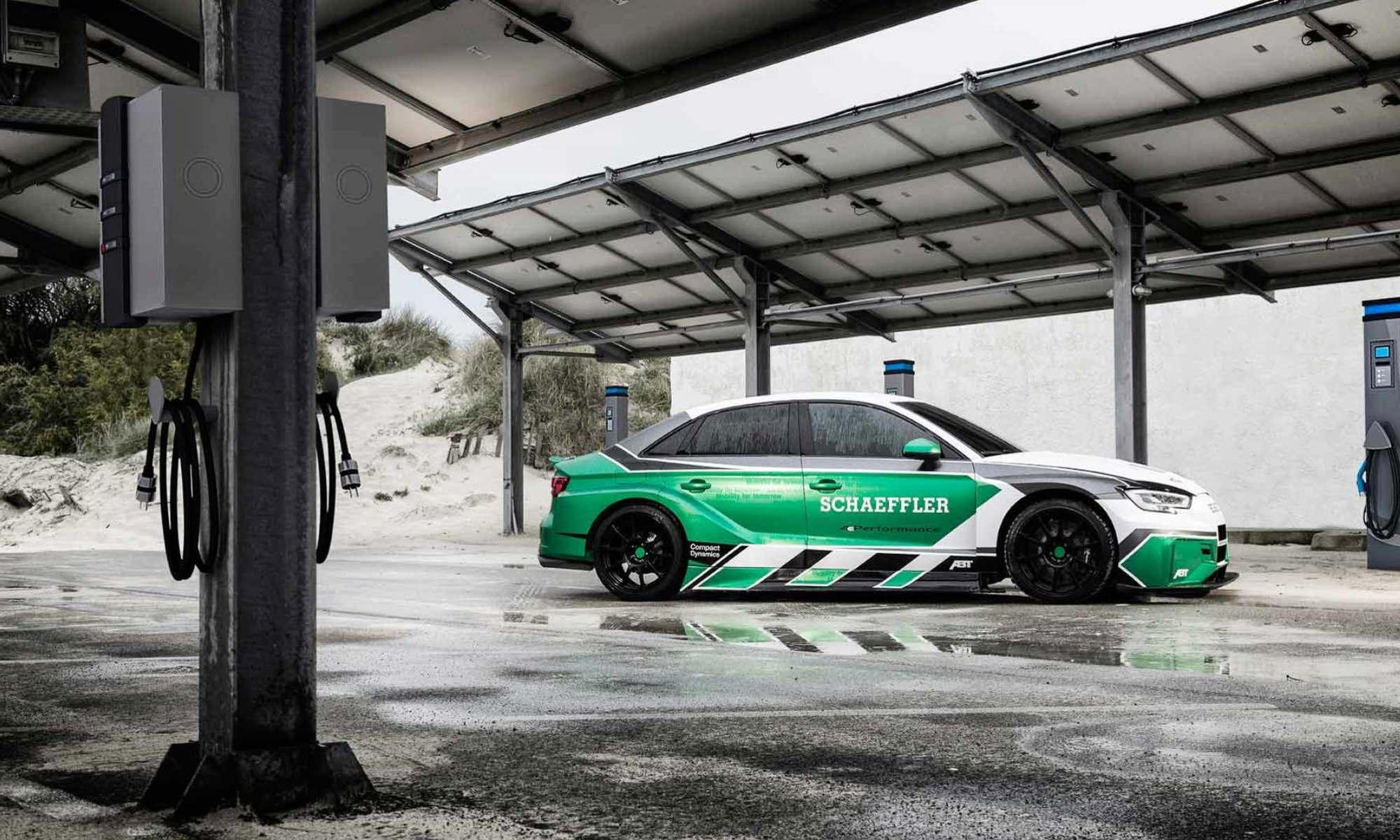 Audi 4e Performance Concept